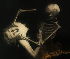 "scribe4haxan: ""Danse Macabre ~ by Max Ernst… """