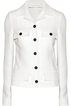 Victoria Beckham|Crepe jacket|NET-A-PORTER.COM