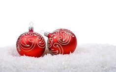 Christmas Tree Ornaments Decoration Wallpaper