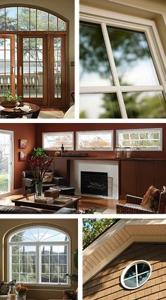 Ply Gem Mira Wood Clad Windows With Ivory Exterior Ply