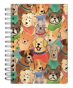 Jot down your thoughts with this handy-dandy journal that features a vibrant print to keep man's best friend close at W x HPaperImported Mans Best Friend, Best Friends, Mail Art, Diy Fashion, Puppy Love, Spiral, Punch, Stationery, Snoopy