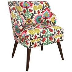 Santa Maria Desert Flower Modern Chair - #4K977 | LampsPlus.com