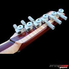 custom built Delta 1 ergonomic guitar by Crimson Guitars
