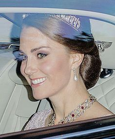 The Duchess of Cambridge at the Spanish State Banquet   12 July 2017