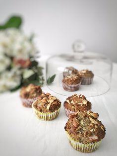 Bezlepkové makové muffiny s rebarborou – Vylizanytalir.cz