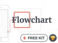 Flowchart kit – Free mobile wireframing kit for Sketch Wireframe Mockup, Wireframe Design, Mobile Wireframe, Flow Chart Design, Web Design, Ui Design Inspiration, Mobile App Design, Cool Sketches, Create Website