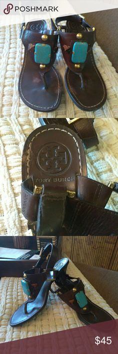 Tory Burch Sandals Tory Burch Sandals. Preloved, have wear but still in good condition. Tory Burch Shoes Sandals