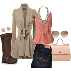 A fashion look from January 2013 featuring Denim & Supply by Ralph Lauren tops, Abercrombie & Fitch jeans and Jeffrey Campbell boots. Browse and shop related l…