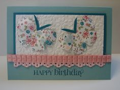 Mixed Bunch Stamp Set and matching Blossom Punch