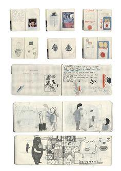 more sketchbooks by rose blake, via Flickr