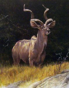 Robert Bateman painting 1310901919_sappi-kudu