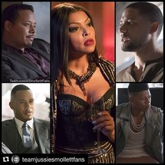 Empire TV Series -- Cookie and the Men in her life