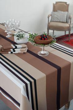 Toffee, Loom Weaving, Hand Weaving, Table Settings, Sweet Home, Creations, Stripes, Seaside, Nautical