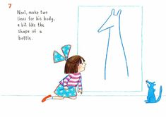How to draw… blue kangaroo | Children's books | The Guardian Book Sites, The Guardian, Kangaroo, Childrens Books, Lily, Activities, Drawings, Blue, Baby Bjorn