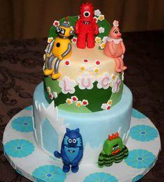 Cartoon Birthday Cakes For Kids