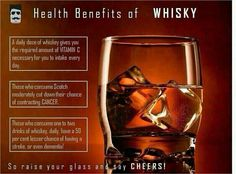 Benefits of Whisky