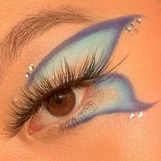 Dope Makeup, Indie Makeup, Edgy Makeup, Makeup Eye Looks, Eye Makeup Art, Crazy Makeup, Pretty Makeup, Skin Makeup, Makeup Inspo