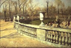 Frits Thaulow - Luxembourg Gardens