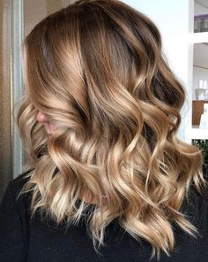 Light caramel balayage for brown hair hair color, 2019 balayage hair bl Brown Hair With Highlights And Lowlights, Brown Balayage, Blonde Balayage, Hair Highlights, Caramel Balayage Highlights, Auburn Balayage, Bronde Haircolor, Color Highlights, Brown Hair Shades