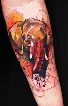 #tattoo #tattoos #ink #inked #elephant