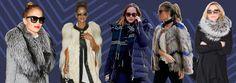 UNIVERSO PARALLELO: Come vestono le star per proteggersi dal freddo