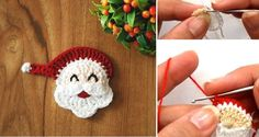 Mesmerizing Crochet an Amigurumi Rabbit Ideas. Lovely Crochet an Amigurumi Rabbit Ideas. Crochet Santa, Crochet Daisy, Crochet Stars, Crochet Gifts, Free Crochet, Knit Crochet, Crochet Ripple, Crochet Slippers, Crochet Christmas Wreath
