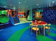 The ultimate playroom! Just in pink & purple & blue & green