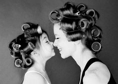 31 Impossibly Sweet Mother-Daughter Photo Ideas Madsie is a bit young for most of these, maybe next year. (And this little one looks so much like my girl!