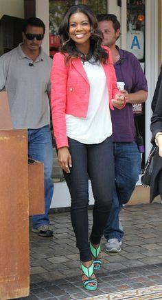 Gabrielle Union Photos Photos - Gabrielle Union Visits 'Good Morning America' - Zimbio