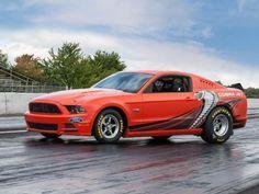 2014 Cobra Jet Mustang Prototype Crossing Barrett-Jackson Las Vegas - Mustang Monthly