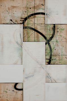 """Februation  Acrylic on Panel  40 x 60""""  $8000"""