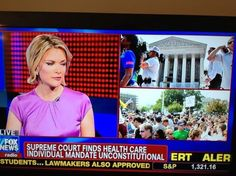 Fox News Reports SCOTUS Ruled Individual Mandate As Unconstitutional!  LOL - That's what I call COMPOSING the news, not REPORTING it.