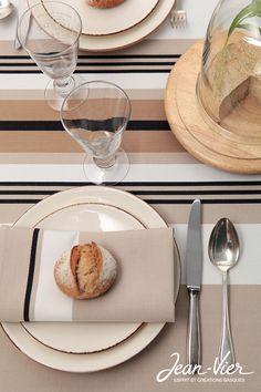 Table basque l 39 art de la table basque pinterest tables et articles - Nappe basque jean vier ...