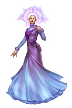 Female Aasimar Cleric of Pulura - Eliandra - Pathfinder PFRPG DND D&D d20 fantasy