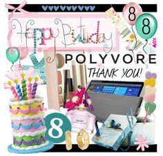 """""""#HappyBirthday #Polyvore"""" by designsbytraci on Polyvore"""