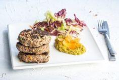 Μπιφτέκια super food με λαχανικά και πουρέ λαχανικών-featured_image