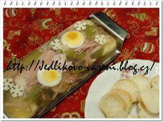 Jedlíkovo vaření: Šunkový aspik Ethnic Recipes, Blog, Blogging