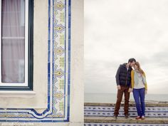engagement photo session in Ericeira, Portugal