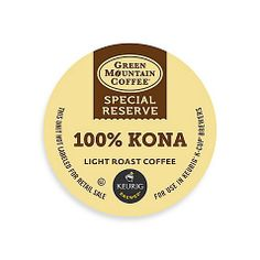 There's coffee. And then there's 100% Kona Coffee, which is fruity and bright. What's your favorite K-cup flavor?