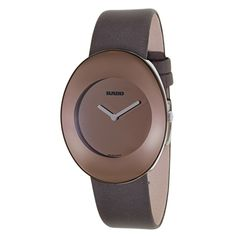Rado Women's R53739336 'Esenza' Brown Stainless Steel Swiss Quartz Watch