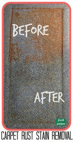How To Remove Rust Stains From Carpet How To Remove Rust