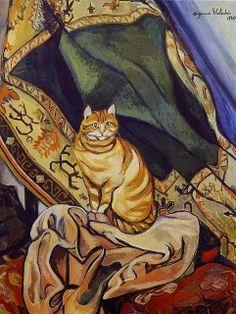 Portrait de chat   Suzanne Valadon http://www.flickr.com/photos/23416307@N04/6052970916/in/set-72157627333054606