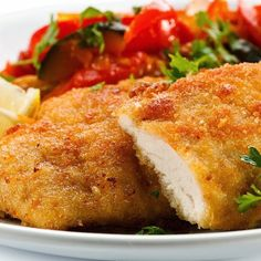 Oven baked chicken cutlets.Chicken breasts baked in the stove.Very easy chicken recipe.