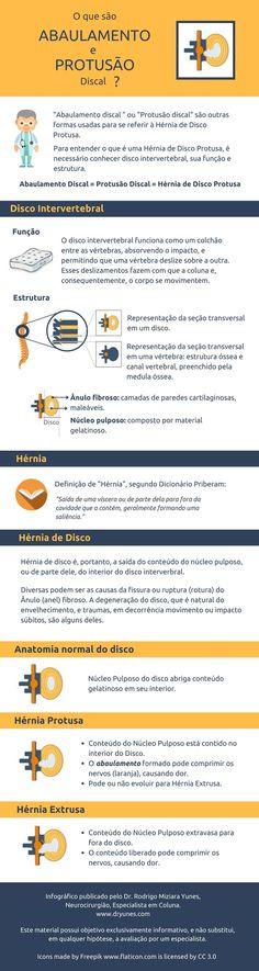 Abaulamento e Protusão Discal são termos sinônimos, que representam uma condição do disco intervertebral. Saiba mais em http://www.dryunes.com/abaulamento-e-protusao-discal-o-que-sao/