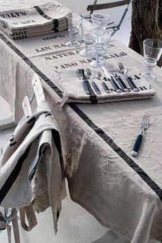 Grainsack tablecloth
