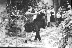 Scheda n°44 – Foto tango archivio descrizione dei passi raffigurati   Tacchi Solitari