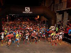 Salida de la Ultra Pirineu 2014. Crédito Jordi Canyameras