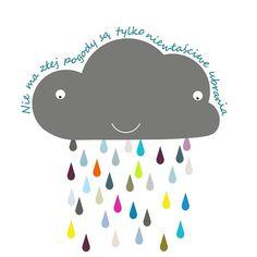 #chmura #grafika #plakaty #plakatdladzieci #designforhome #Designforkids #lovehome #projektangeworkshop #totodesignpl by totodesignpl