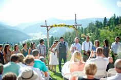 Angie and Jeff's Homespun Rustic Wedding in the Rocky Mountains. By Selah Photography