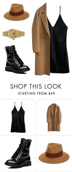 """""""Untitled #225"""" by lenka-skodiova on Polyvore featuring Fleur du Mal, WithChic, Paul Smith and Rolex"""